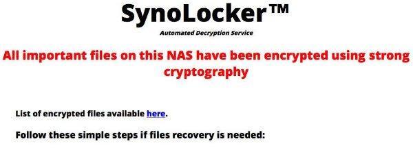 SynoLocker 2